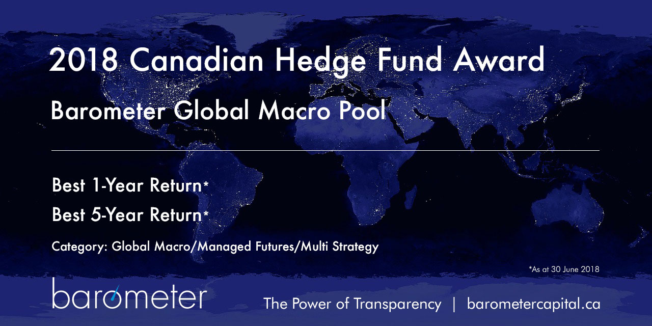 2018 Canadian Hedge Fund Award, Barometer Global Macro